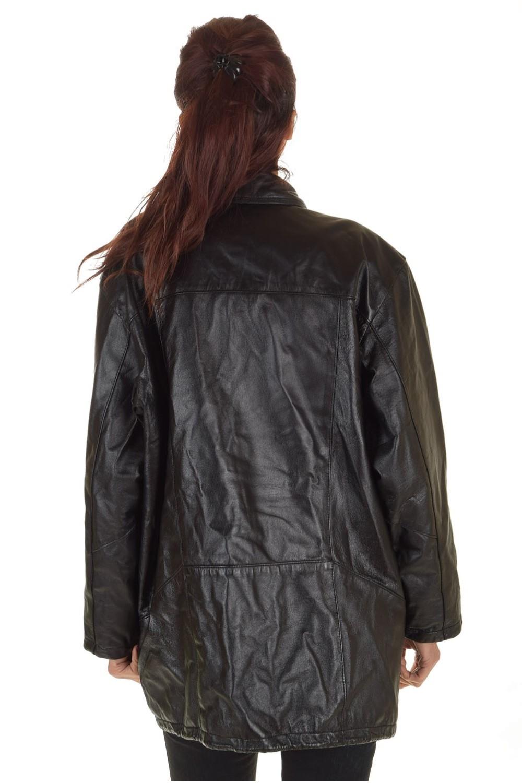 073f49a3460a ... Γυναικείο μακρύ δερμάτινο μπουφάν 44.00 EUR ...