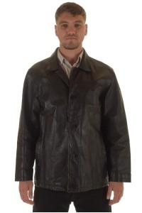 Ανδρικό σακάκι από πυκνό χοιρόδερμα