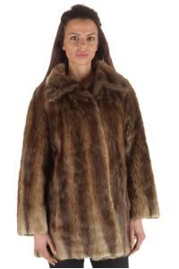 Γυναικείο παλτό από μοσχοπόντικα