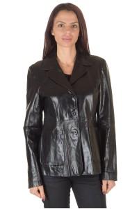 Γυναικείο σακάκι από φυσικό δέρμα