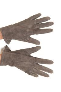 Γυναικεία καστόρινα γάντια από φυσικό δέρμα