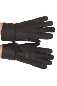 Κλασσικά γυναικεία καστόρινα γάντια