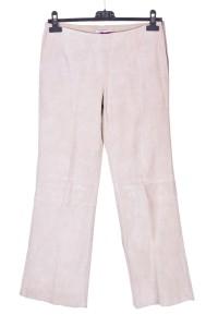 Γυναικείο καστόρινο παντελόνι από φυσικό δέρμα