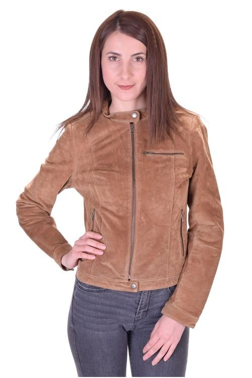 Καστόρινο μπουφάν από φυσικό δέρμα 16.00 EUR