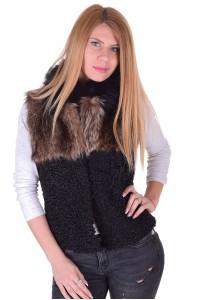 Γυναικείο γιλέκο από φυσική γούνα