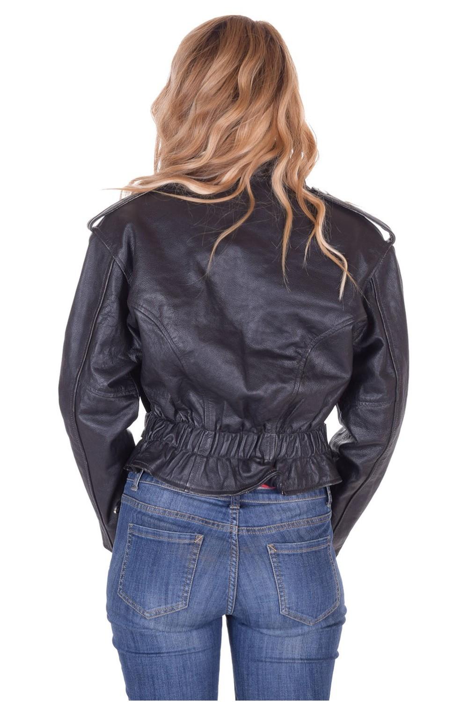 94b966f9c8 ... Γυναικείο rocker δερμάτινο μπουφάν 50.00 EUR ...