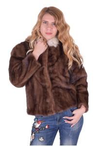 Ομορφο γυναικείο παλτό από φυσική γούνα