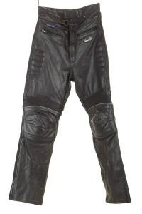 Ανδρικό του μοτοσικλετιστή παντελόνι από φυσικό δέρμα