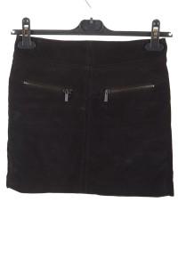 Επώνυμη γυναικεία καστόρινη φούστα από φυσικό δέρμα