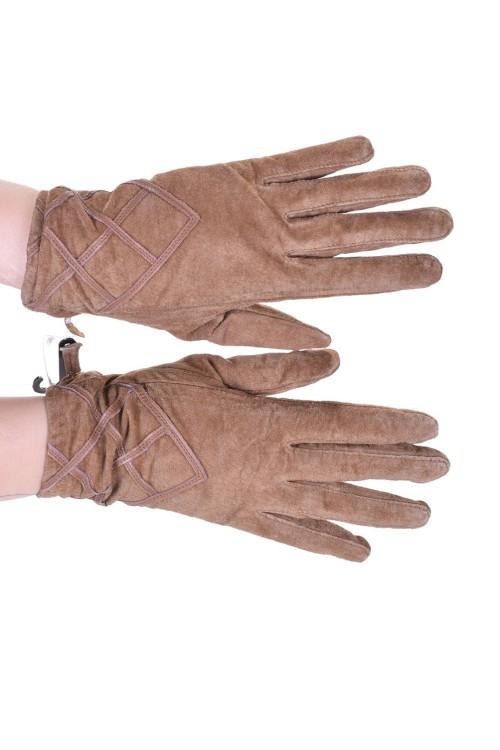 Καστόρινα γάντια από φυσικό δέρμα 10.00 EUR