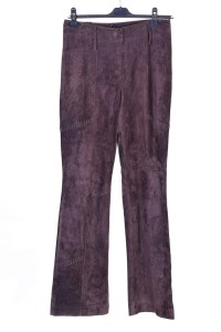 Καστόρινο παντελόνι από φυσικό δέρμα