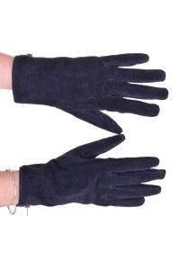 Κομψά γυναικεία καστόρινα γάντια από φυσικό δέρμα