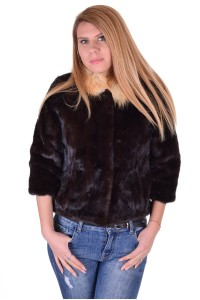 Ομορφο γυναικείο παλτό από βιζόν
