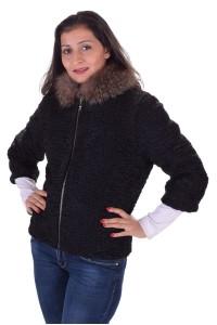 Γυναικείο παλτό από αστρακάν