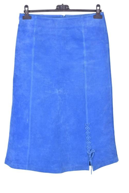 Ωραία γυναικεία καστόρινη φούστα από φυσικό δέρμα 12.00 EUR