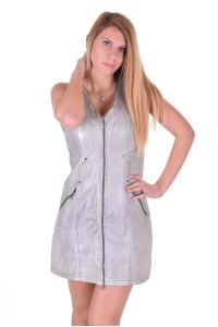 Δερμάτινο φόρεμα
