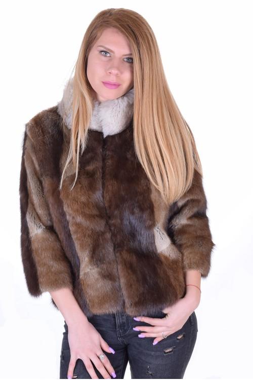 Αξιοθαύμαστο γυναικείο παλτό από φυσική γούνα 95.00 EUR