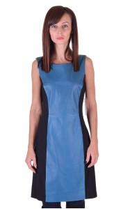 Αξιοθαύμαστο γυναικείο δερμάτινο φόρεμα