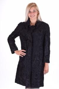 Εξεζητημένο γυναικείο παλτό από αστρακάν