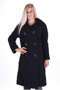 Στιλάτο παλτό από αστρακάν