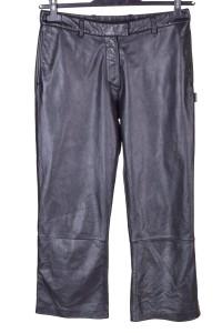 Κλασσικό γυναικείο δερμάτινο παντελόνι