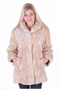 Γυναικείο παλτό από φυσική γούνα