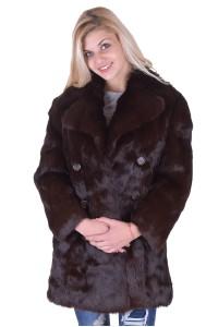 Γυναικείο παλτό από λαγό