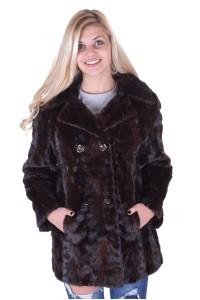 Γυναικείο παλτό από βιζόν