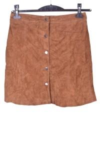 Θαυμάσια καστόρινη φούστα από φυσικό δέρμα