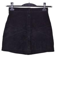Μαύρη καστόρινη φούστα