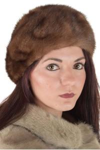 Αριστο γυναικείο καπέλο από φυσική γούνα