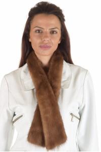 Αριστος γυναικείος περιλαίμιο από φυσική γούνα
