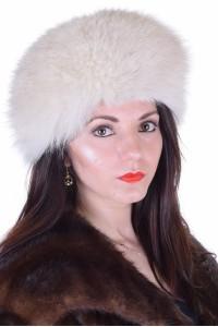 Γυναικείο καπέλο από αλεπού