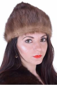 Ομορφο γυναικείο καπέλο από φυσική γούνα