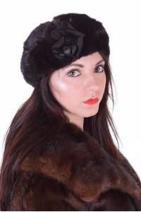 Ωραίο γυναικείο καπέλο από βιζόν