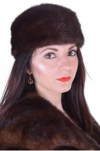 Γυναικείο καπέλο από βιζόν