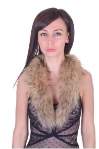 Κομψός γυναικείος περιλαίμιο από αλεπού