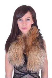 Εξαίσιος γυναικείος περιλαίμιο από αλεπού