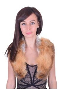 Γυναικείος περιλαίμιο από αλεπού