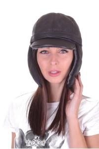 Ωραίο καπέλο από φυσικό δέρμα