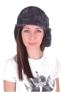 Γυναικείο καπέλο από φυσικό δέρμα