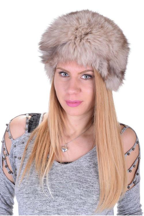 Γυναικείο καπέλο από φυσική γούνα 22.00 EUR