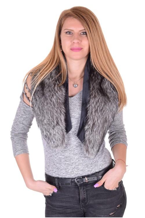 Ομορφος γυναικείος περιλαίμιο από αλεπού 36.00 EUR